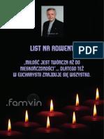 [polski] List na Adwent 2017 do Rodziny Wincentyńskiej