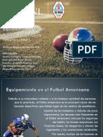 Equipamiento en el Futbol Americano