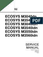 SERVICE 3540idn M3540idn M3550idn M3560idn