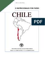 Perfil Nutricional Chile FAO 2001