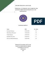 Metodologi Penelitian Akuntansi Kelompok 2