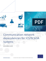 Communication network dependencies for ICS/SCADA Systems - WP2016 3-1 2 ICS SCADA Dependencies