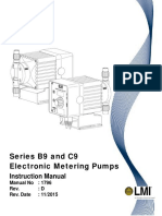 LMI B9 C9 Series Pump Manual