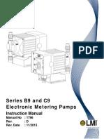 LMI B9 C9 Series Pump Manual