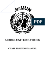 Chair Training Manual