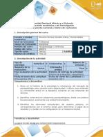 Guía de actividades y rúbrica de evaluación - Paso 4 -  Evaluación