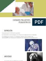 Problemas psiquiaricos del paciente terminal de cáncer