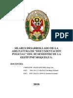 Documentación Policial 2016