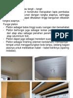 6. Plafond