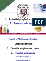 CG5A. Pronósticos en Los Negocios