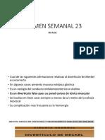 EXAMEN SEMANAL 23