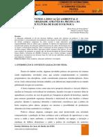 EDUCAÇÃO AMBIENTAL E SUSTENTABILIDADE NA AGRICULTURA ECOLÓGICA