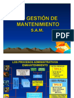 Gestion de mantenimientos SAM