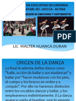 Concepto de Danza