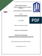 Propiedades básicas del Acero 1018