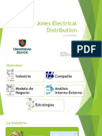 Jones Electrical Distribution - Grupo 3