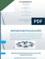 Unidad 5, Actividad 2 Departamentalización