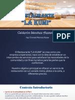 Plan de Implementación de Una Plataforma Para Tienda Online Restaurante - Calderon Sanchez - Prof Cronwell Mairena Rojas - Diapositiva
