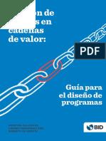 Gestion de Riesgos en Cadenas de Valor Guia Para El Diseno de Programas