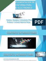 Plan de Implementación de Una Plataforma Para Tienda Online Venta Pc Laptops y Soporte Tecnico - Carhuajulca Pisco - Prof Cronwell Mairena Rojas - Diapositiva