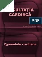 Ascultatia cardiaca