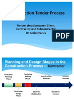 Construction Tender Process