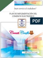 Plan de Implementación de Una Plataforma Para Tienda Online de Manualidades - Effio Policarpio - Prof Cronwell Mairena Rojas