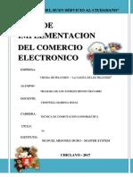 Plan de Implementación de Una Plataforma Para Tienda Online de Venta de Peluches - Hoyos Chavarri - Prof Cronwell Mairena Rojas
