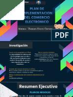 Plan de Implementación de Una Plataforma Para Tienda Online de Venta de Peluches - Hoyos Chavarri - Prof Cronwell Mairena Rojas - Diapositiva