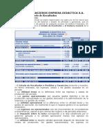Estados Financieros Empresa Didactica s
