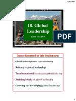 18. Shd. Global Leadership