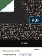 Cálculo - Clase 1 - Unidad 2