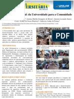 Poster apresentado na V Semana Universitária da UNILAB