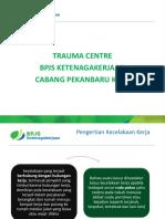 Trauma Center Presentasi