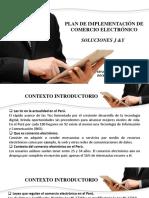 Plan de Implementación de Una Plataforma Para Tienda Online Soporte Tecnico - Manayay Reyes - Prof Cronwell Mairena Rojas - Diapositiva