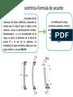 Carga excéntrica-Formula de secante.pptx
