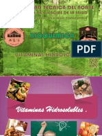 VITAMINAS HIDROSOLUBLES