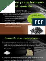 Fabricación y Características Del Cemento