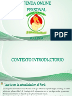 Plan de Implementación de Una Plataforma Para Tienda Online Polleria - Sandoval Silva- Prof Cronwell Mairena Rojas - Diapositiva