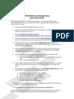 ZSTAR Reference Design Demo Quick Start Guide