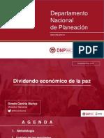 Dividendo Económico de La Paz- Presentación Simón Gaviria