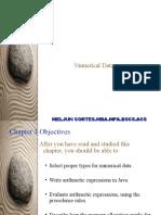 MELJUN CORTES's - Java Numerical Data Types & Expressions