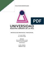 Protocolo Quirúrgico osteomielitis