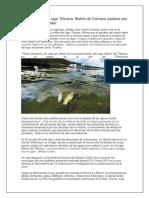 Contaminación Lago Titicaca