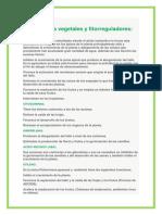 Hormonas Vegetales y Fitorreguladores Dany