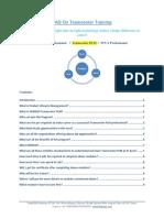 FAQ Industry Professional on Teamcenter Training