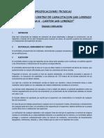 17 1210-00-794821 2 1 Especificaciones Tecnicas