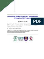 IBS Workshop Report CREAM 29 July 2009