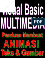 Visual Basic 6.0 - Multimedia - Membuat Program Animasi Teks Dan Gambar