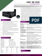 Product Sheet - HAF XB EVO